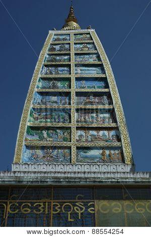Stupa, Shwedagon Pagoda