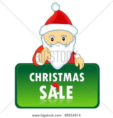 Santa Christmas Sale