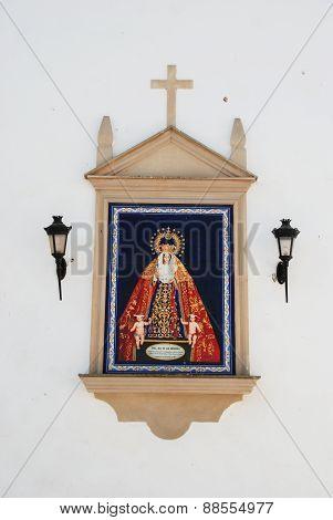 Religious picture, Aguilar de la Frontera.