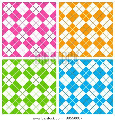 Gingham Seamless Patterns