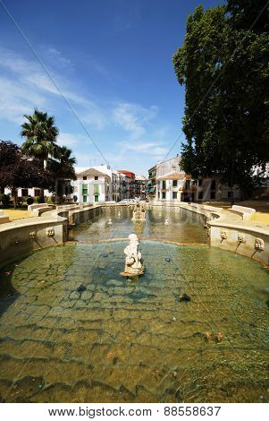 Kings Fountain, Priego de Cordoba.