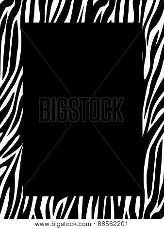 Animal Print Border / Frame