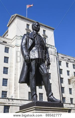 Hugh Trenchard Statue In London