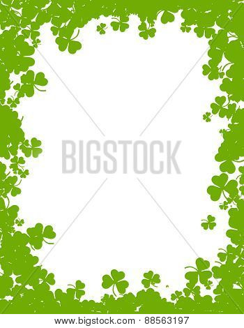 Happy St. Patrick's Day Frame