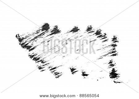 Black Abstract Grungy Texture Sketch Charcoal