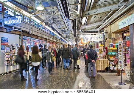 Inside Chelsea Market, Manhattan, New York City