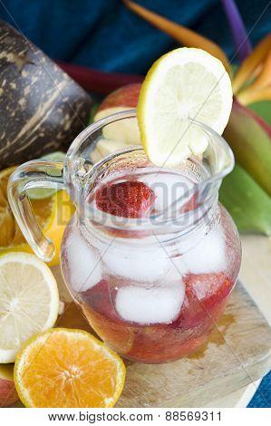 Fresh Juice In Jar
