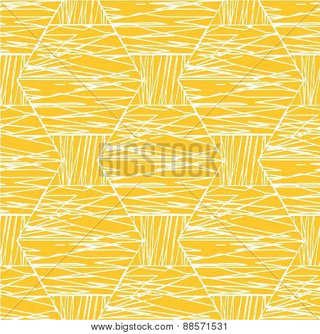 Abstract White Orange Pattern.eps