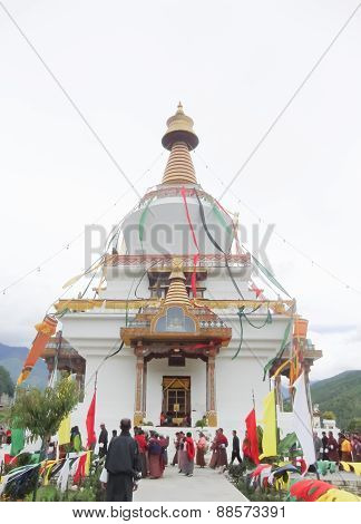 People Joined Religious Ceremonies