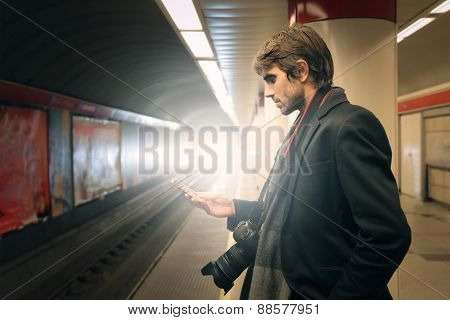In the subway