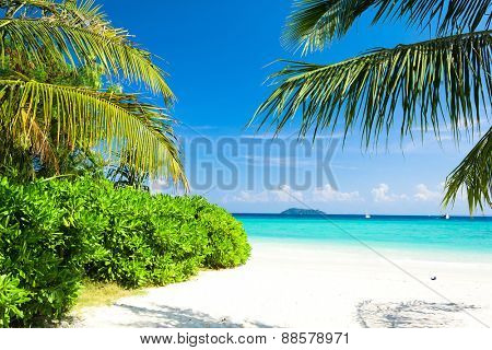 Idyllic Coast Exotic Paradise