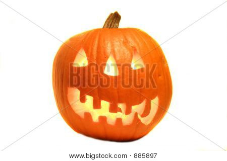 Jack-O-Lantern Pumpkin.