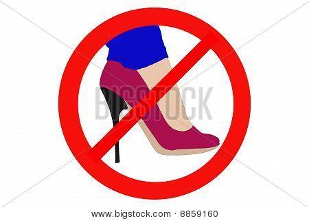 Ban High Heels