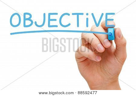 Objective Blue Marker
