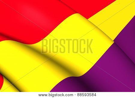 Second Spanish Republic Flag