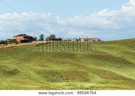 Crete Senesi (tuscany, Italy)
