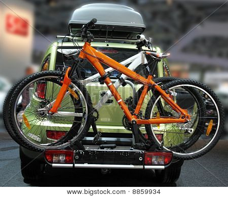 Car With The Bicycles