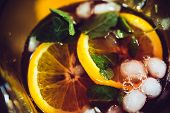 picture of sangria  - Sangria with red wine - JPG