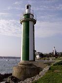 Lighthouse Benodet Brittany France Europe poster