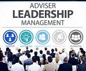 pic of responsible  - Adviser Leadership Management Director Responsibility Concept - JPG