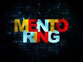 foto of mentoring  - Education concept - JPG