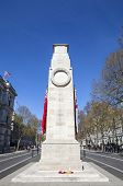 picture of glorious  - The historic Cenotaph War Memorial located on Whitehall in the City of Westminster London - JPG