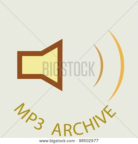 Mp3 Archive Button