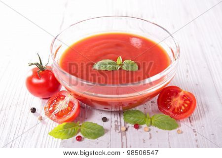 tomato sauce or soup
