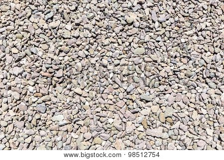 Texture Of Granite Gravel
