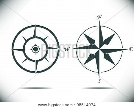 compass vector illustration