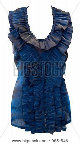 Blouse With Frills, Clipping Path