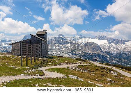 Dachstein-krippenstein Chapel
