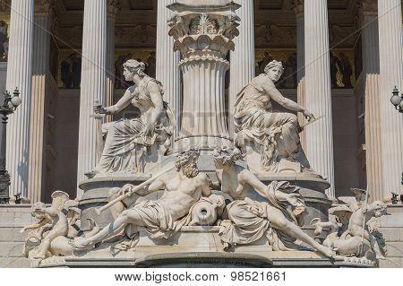 Pallas Athene Fountain
