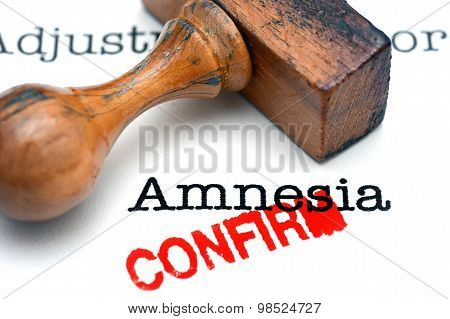 Amnesia Confirm