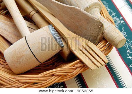 Wooden Kitchen Equipment