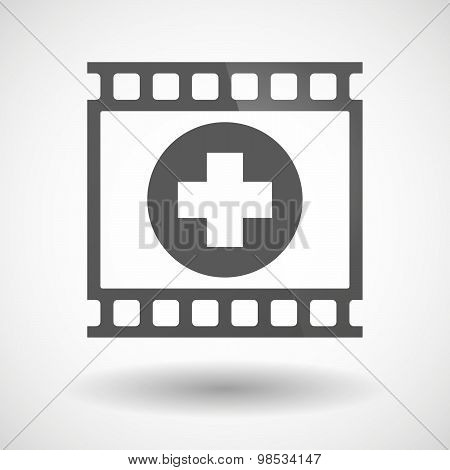 Photographic Film Icon With A Sum Sign