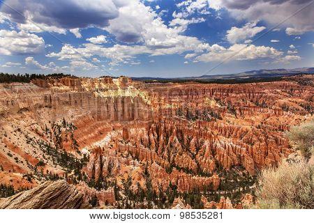 Hoodoos Inspiration Point Bryce Canyon National Park Utah