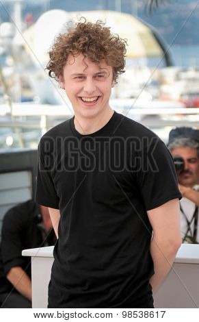 Norman THAVAUD attend the 'Mon Roi' photocall during the 68th annual Cannes Film Festival on May 17, 2015 in Cannes, France.
