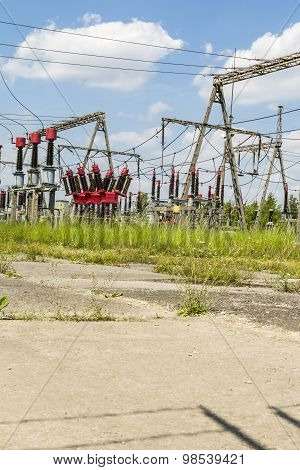 Elements Of Electrical Substation