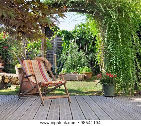 Terrace For Relaxation