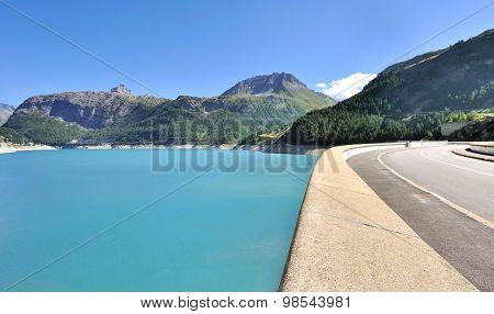 Chevril Dam, - Tignes- Savoy
