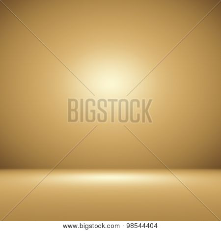 Abstract Orange background layout designstudioroom web template Bussiness report with smooth circle gradient color.