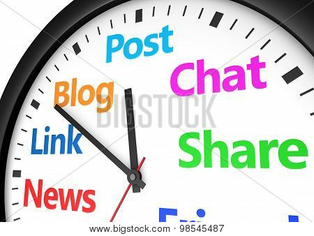 Social Media Networking Time Management