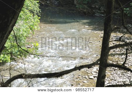 Mountain river