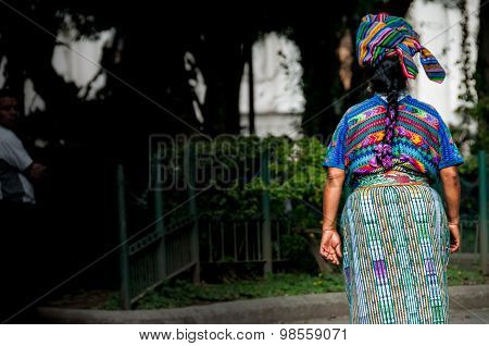 Indigenous woman in Guatemala