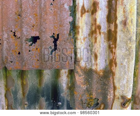 old rust wall texture