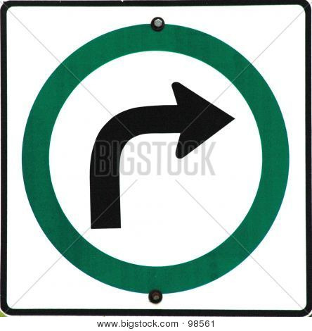 Sign Turn Right