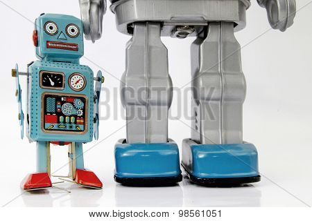 father son robot toys