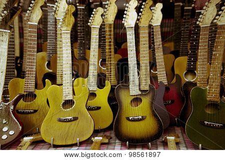 lots of guitars