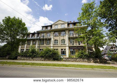 The Hotel Called The Imperial In Zakopane